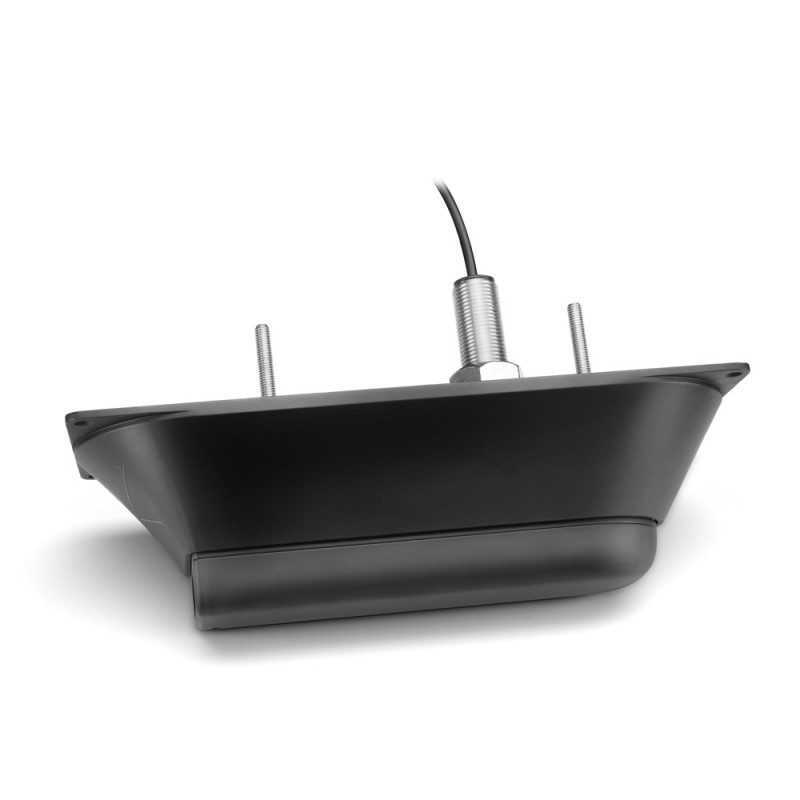 GT21-TH – Stainless Steel Thru-Hull DownVü 500 W (CHIRP 260/455 kHz) Traditional 600 W (50/200 kHz) Transducer with Temp (8-pin)