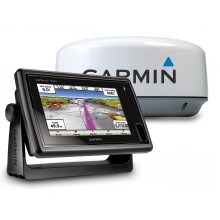 GPSMAP 751 Colour GPS/Chartplotter & GMR 18 HD 4kW Radome c/w 15m cable